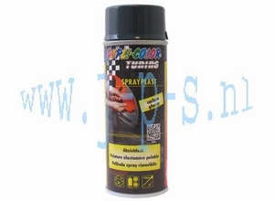 SPUITBUS SPRAY-PLAST 400 ML  CARBON DUPLI COLOR