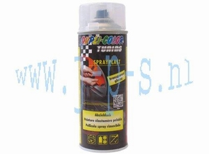 SPUITBUS SPRAY-PLAST 400 ML  TRANSPARANT DUPLI COLOR
